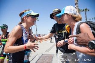 Race course encouragement, Oceanside 2017
